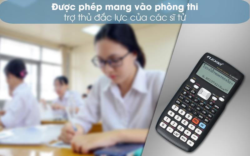 Được mang vào phòng thi - Máy tính khoa học Thiên Long - Flexio FX680VN Xanh