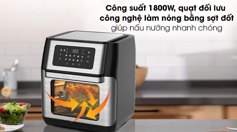 Công suất - Nồi chiên không dầu Kalite Q10 10 lít