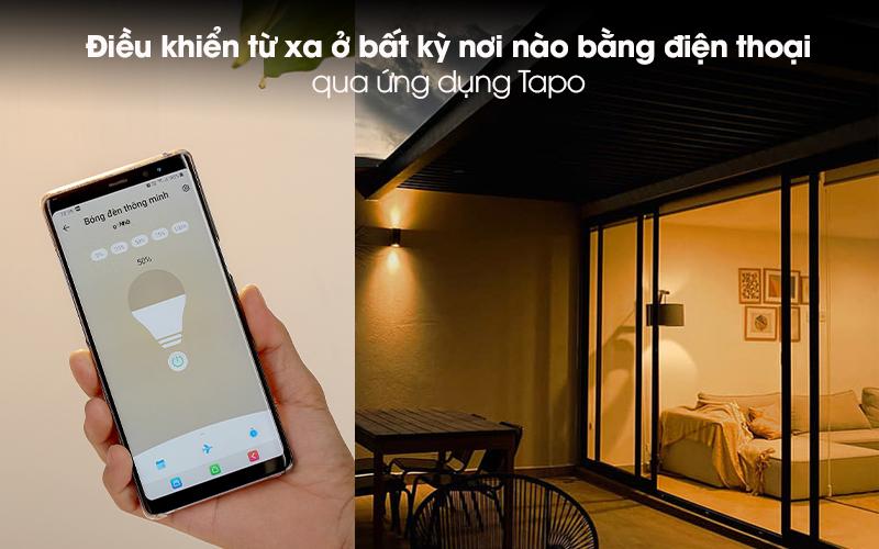 Bóng Đèn Led Thông Minh 8.7W Dimable TP-Link Tapo L510E Trắng - Điều khiển từ xa ở bất kỳ nơi nào bằng điện thoại qua ứng dụng Tapo