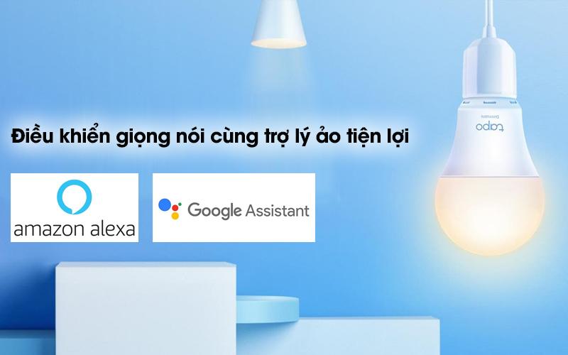 Bóng Đèn Led Thông Minh 8.7W Dimable TP-Link Tapo L510E Trắng - Quản lý đèn dễ dàng với giọng nói cùng trợ lý ảo Google Assistant và Amazon Alexa