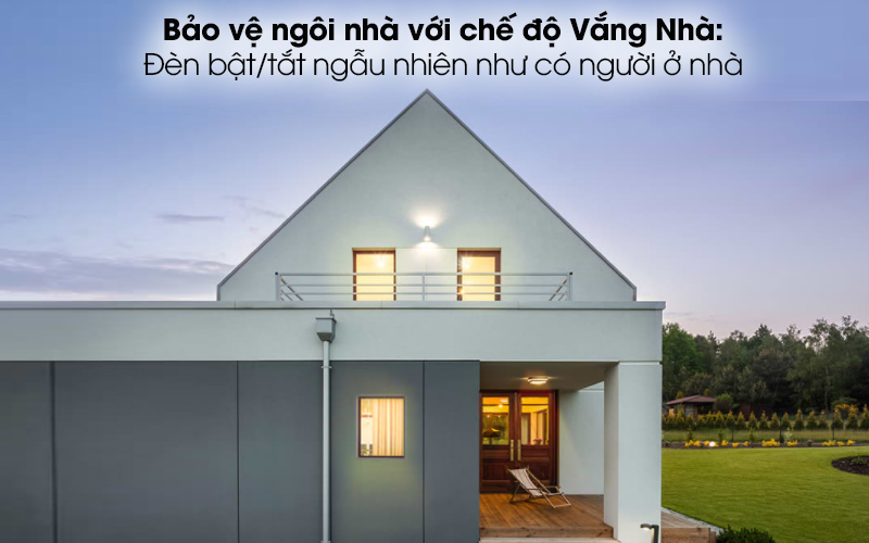Bóng Đèn Led Thông Minh 8.7W Dimable TP-Link Tapo L510E Trắng - Đảm bảo an toàn cho ngôi nhà bạn với chế độ Vắng Nhà
