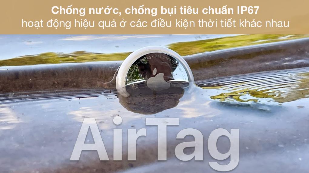 Thiết bị định vị thông minh AirTag 4 Pack MX542 - Chuẩn chống nước, chống bụi IP67