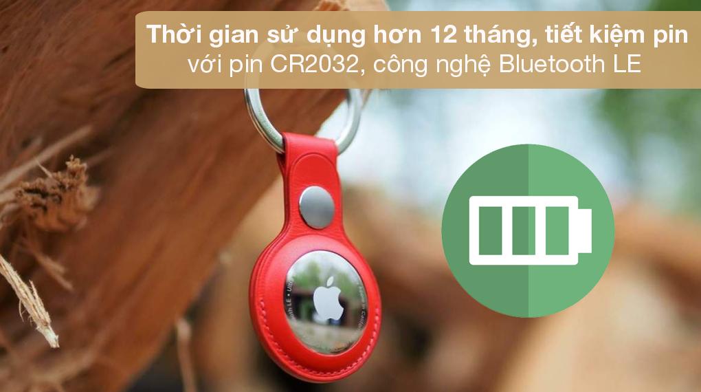 Thiết bị định vị thông minh AirTag 4 Pack MX542 - Cho thời gian dùng đến hơn 1 năm với pin đồng xu CR2032 tiêu chuẩn