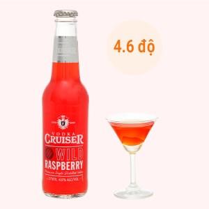 Rượu Vodka Cruiser Wild Raspberry 4.6% - 275ml