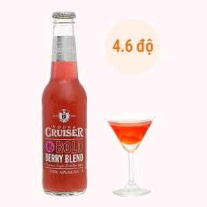 Rượu Vodka Cruiser Bold Berry Blend 4.6% - 275ml