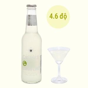 Rượu Vodka Cruiser Zesty Lemon-Lime 4.6% chai 275ml