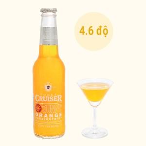 Rượu Vodka Cruiser Sunny Orange Passion Fruit 4.6% - 275ml