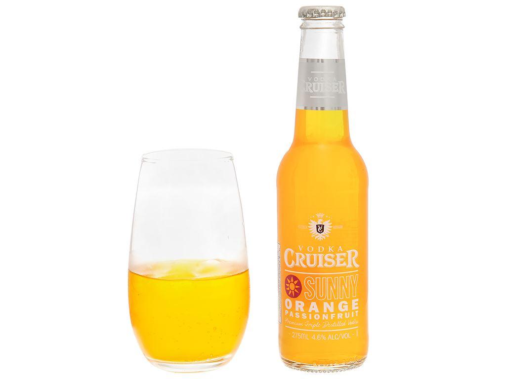 Rượu Vodka Cruiser Sunny Orange Passion Fruit 4.6% - 275ml 5