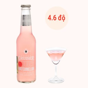 Rượu Vodka Cruiser Juicy Watermelon 4.6% 275ml