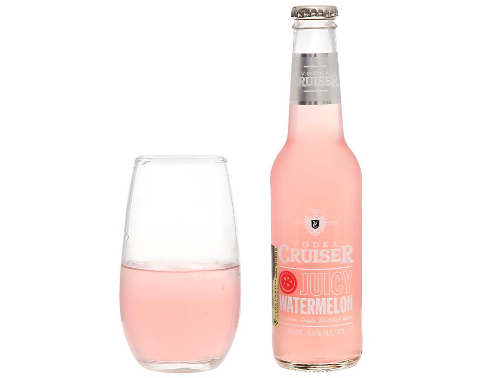 Rượu Vodka Cruiser Juicy Watermelon 4.6% 275ml 5