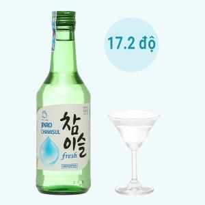 Rượu soju Jinro fresh 17.2% 360ml