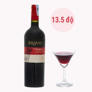Rượu vang đỏ Bravo Carbernet Sauvignon 13.5% 750ml