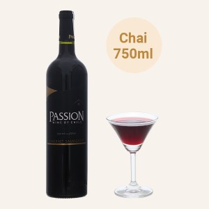 Rượu vang đỏ Passion Carbernet Sauvignon 13.5% 750ml
