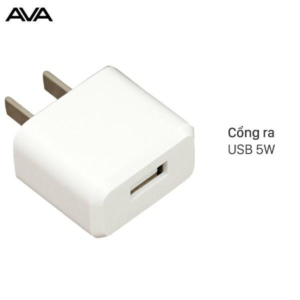 Adapter Sạc 1A AVA JC62