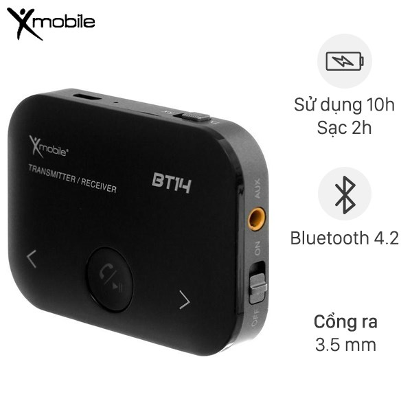 Adapter Bluetooth Xmobile BT14 Đen