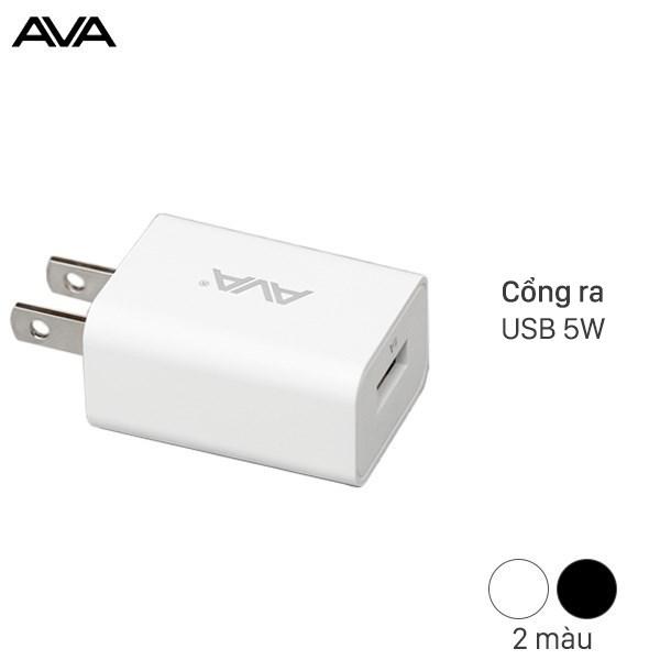 Adapter Sạc 1A AVA DS432X