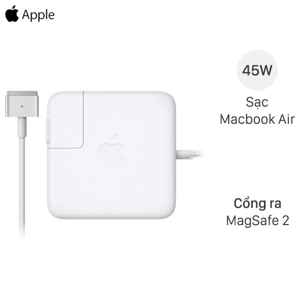 Adapter sạc 45W Apple MacBook Air D592 Trắng