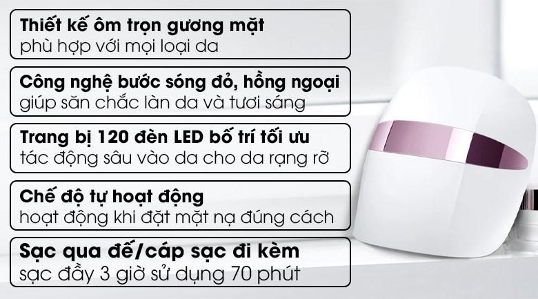 Mặt nạ chăm sóc da mặt Derma LED LG BWM1V