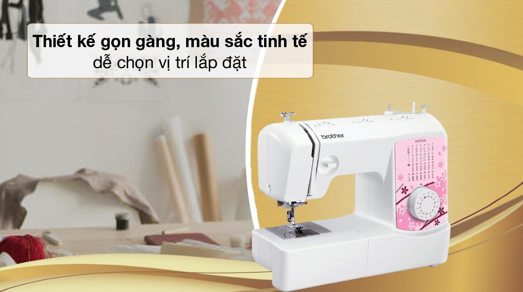 Gọn đẹp - Máy may Brother AS2730S