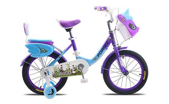 Xe đạp trẻ em Fornix Panda 16 inch Tím