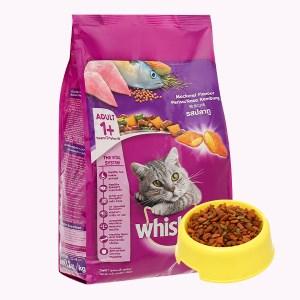 Thức ăn cho mèo lớn Whiskas vị cá thu túi 1.2kg