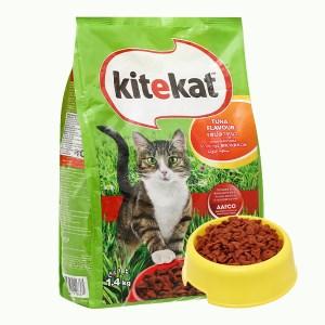 Thức ăn cho mèo Kitekat vị cá ngừ túi 1.4kg