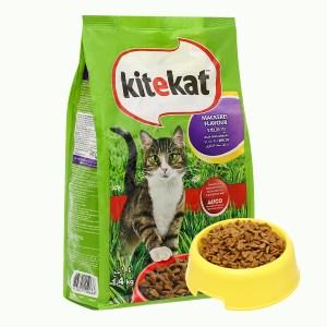 Thức ăn cho mèo Kitekat vị cá thu túi 1.4kg