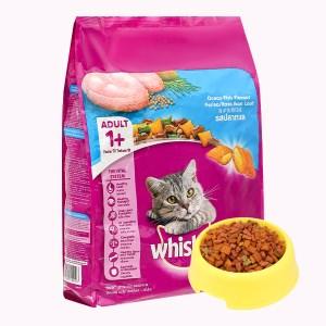 Thức ăn cho mèo lớn Whiskas vị cá biển túi 3kg