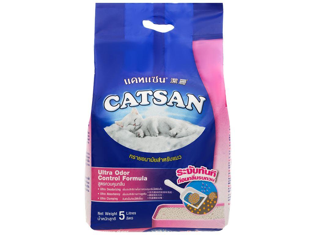 Cát vệ sinh cho mèo Catsan bao 5 lít 1