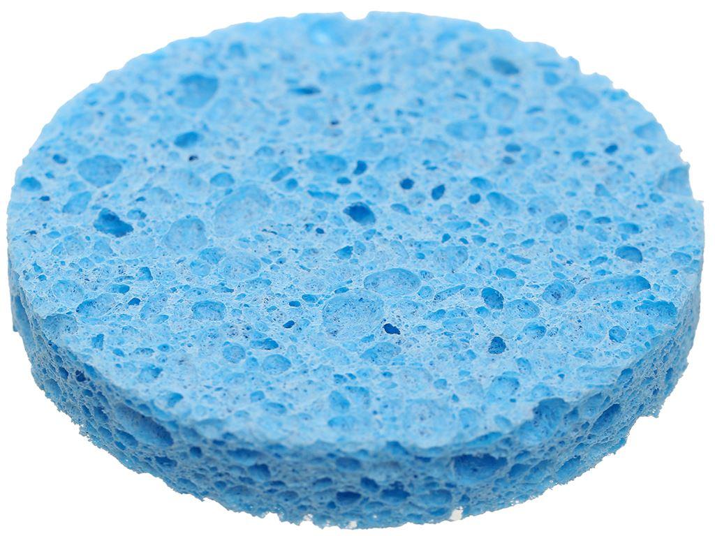 Mút rửa mặt & tẩy trang Cotoneve cao cấp 2 miếng/gói 5