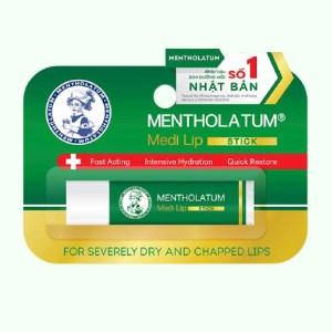 Son dưỡng môi Mentholatum Medi Lip Stick 4.3g
