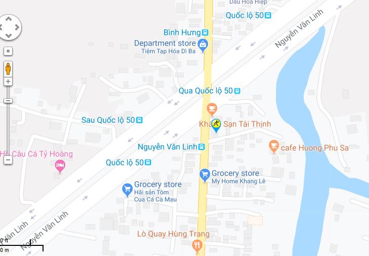 Bản đồ đến siêu thị Điện máy XANH tại B15/7A Quốc lộ 50, Ấp 2, Xã Bình Hưng, Huyện Bình Chánh, Thành phố Hồ Chí Minh