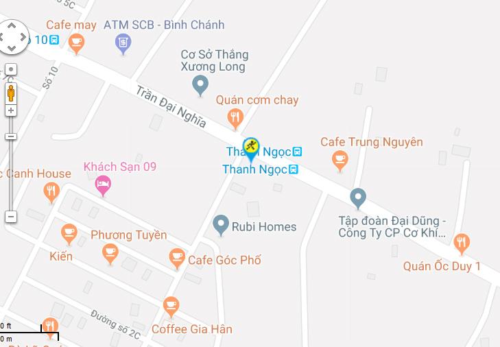 Bản đồ đến siêu thị Điện máy XANH tại G16/41 Trần Đại Nghĩa, Ấp 7, Xã Lê Minh Xuân, Huyện Bình Chánh, Thành phố Hồ Chí Minh. (Đối diện khu dân cư Amazing)