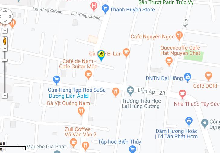 Bản đồ đến siêu thị Điện máy XANH tại C1/3C - C1/3E - C1/3F - C1/3G Võ Văn Vân, Ấp 3, Xã Vĩnh Lộc B, Huyện Bình Chánh, Thành phố Hồ Chí Minh, Việt Nam