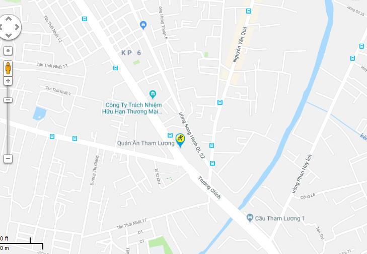 Bản đồ đến siêu thị Điện máy XANH tại 102 -104 -106 Trường Chinh,P. Tân Hưng Thuận , Q. 12, TP.HCM