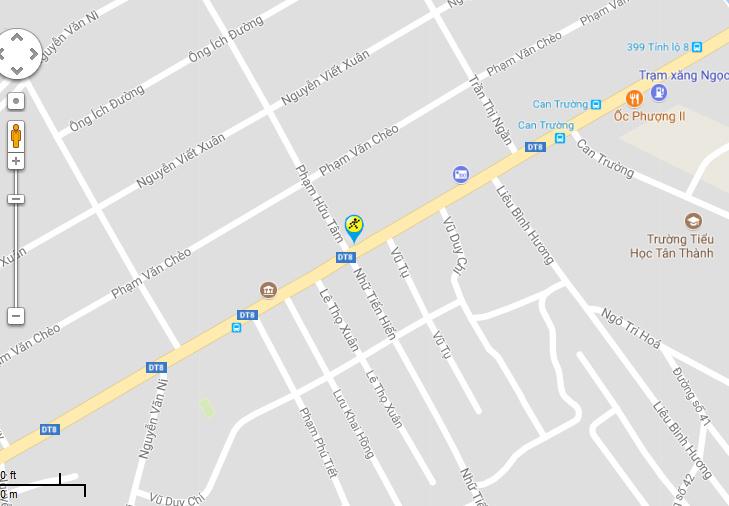 Bản đồ đến siêu thị Điện máy XANH tại Số 209-211 Tỉnh Lộ 8, KP.03, TT. Củ Chi, H. Củ Chi, TP.HCM