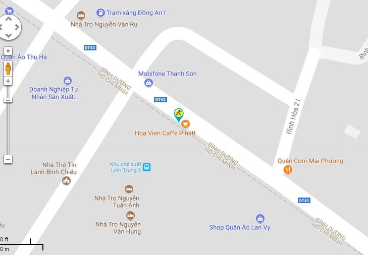 Bản đồ đến siêu thị Điện máy XANH tại 1363A-1363B Tỉnh Lộ 43, phường Bình Chiểu, Quận Thủ Đức, Tp. Hồ Chí Minh