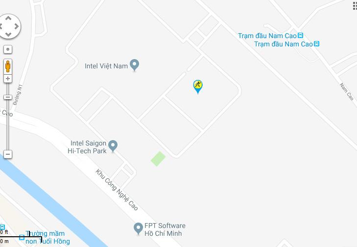 Bản đồ đến siêu thị Điện máy XANH tại 178 Lã Xuân Oai, P. Tăng Nhơn Phú A, Q. 9, TP. HCM (đoạn giữa chợ nhỏ và ngã 3 xóm bến)