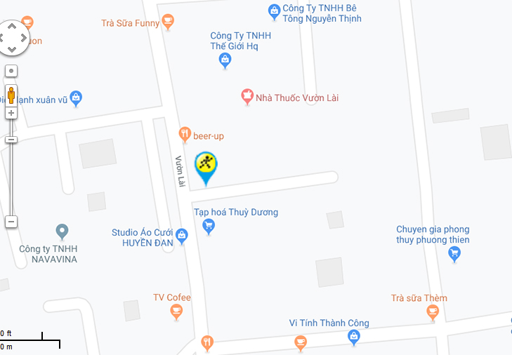Bản đồ đến siêu thị Điện máy XANH tại 35 Vườn Lài. Khu phố 4, Phường An Phú Đông, Quận 12, Thành phố Hồ Chí Minh.