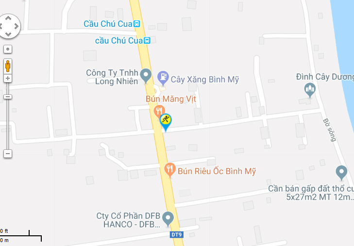 Bản đồ đến siêu thị Điện máy XANH tại 110 - 110B Hà Duy Phiên, Xã Bình Mỹ, Huyện Củ Chi, TP.Hồ Chí Minh