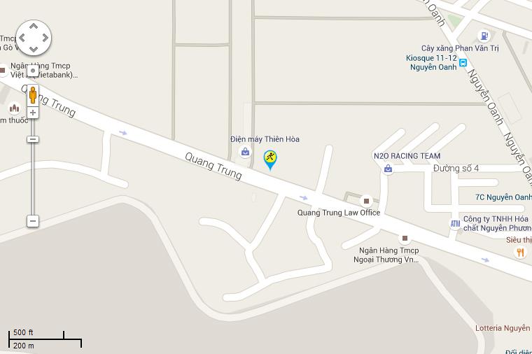 Bản đồ đến siêu thị Điện máy XANH tại Số 162 (số cũ 33)