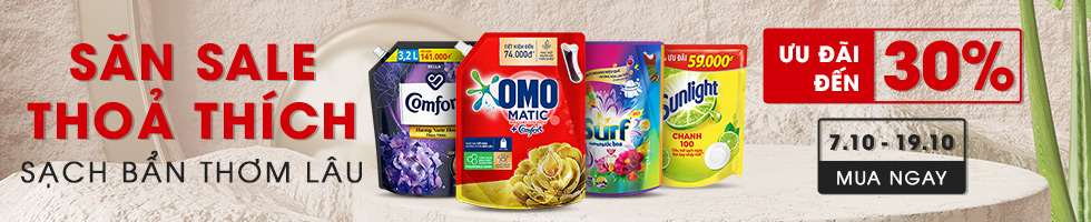 Khuyến mãi Unilever