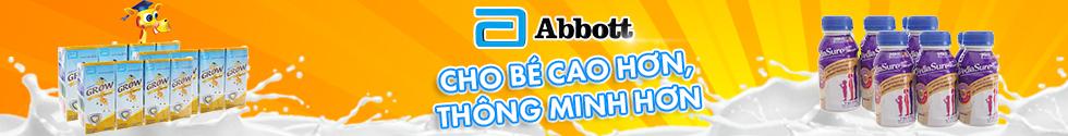 SỮA ABBOTT CHO BÉ CAO HƠN, THÔNG MINH HƠN