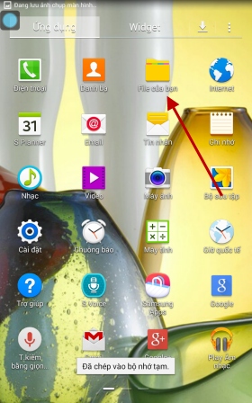 cà ifile apk trên Samsung Galaxy Tab 4 T231 - Thegioididong com