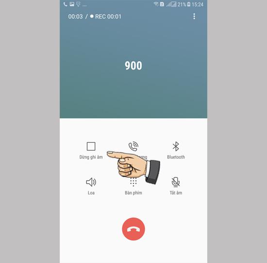 Ghi âm cuộc gọi trên Samsung Galaxy J7 Pro  - Thegioididong com