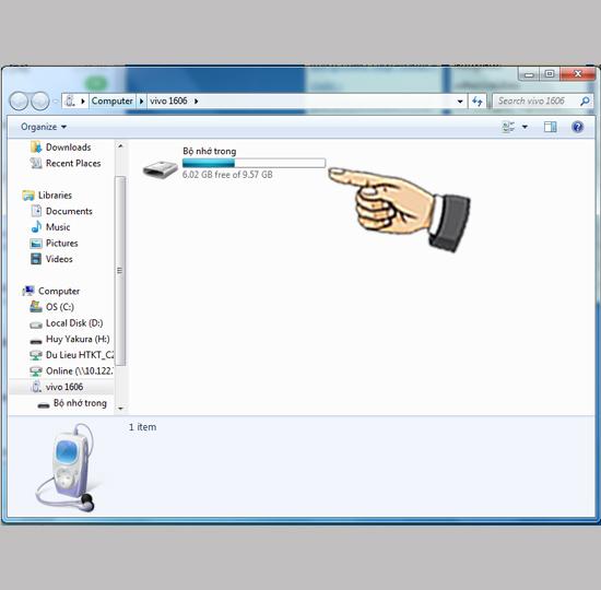 Kết nối Vivo Y53 với máy tính - Thegioididong com