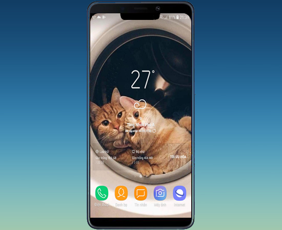 Mang màn hình của iPhone X lên các dòng máy Android - Thegioididong com
