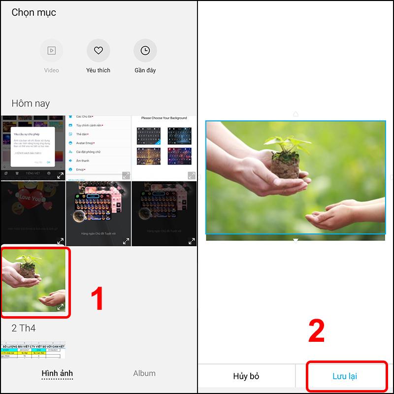 Cách đặt hình nền bàn phím điện thoại Android đơn giản, nhanh chóng