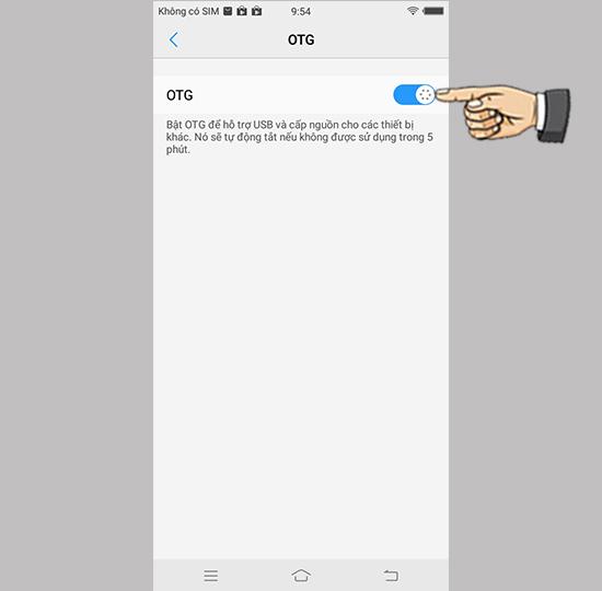 Kết nối OTG trên Vivo V7+ - Thegioididong com