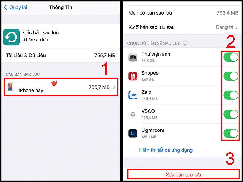 Cách khắc phục dung lượng iCloud báo đầy bộ nhớ trên iPhone hiệu quả